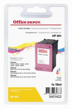 Cartridge Office Depot HP CC656AE/901 - 3 barvy