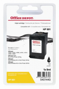 Cartridge Office Depot HP CC653AE/901 - černá