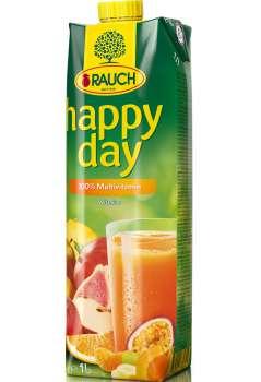 Džus HAPPY DAY - multivitamín 100 %, 1 l