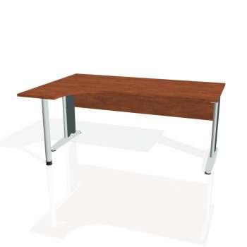 Psací stůl Hobis CROSS CE 1800 pravý, calvados/kov