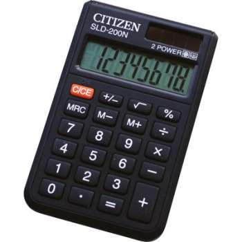 Kapesní kalkulačka Citizen SLD-200N