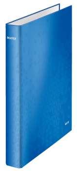 Pořadač čtyřkroužkový Leitz WOW 25 mm, modrý