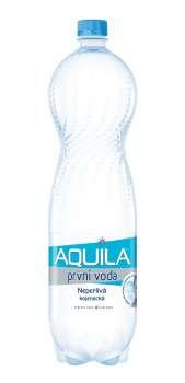 Stolní voda Aquila Aqualinea - neperlivá, 6 x 1,5 l