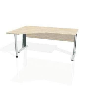 Psací stůl Hobis CROSS CEV 1800 pravý, akát/kov