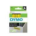 Páska Dymo D1 šíře 12 mm, černá/žlutá