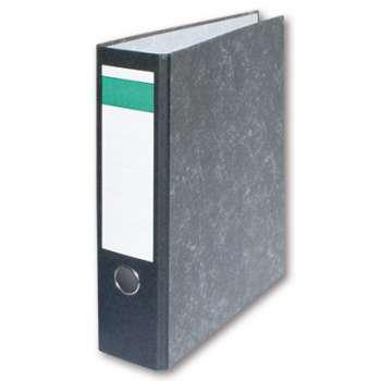 Pákový pořadač Economy - A4, kartonový, hřbet 7,5 cm, černý, 20 ks
