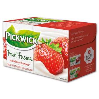 Čaj Pickwick Fruit Garden - Jahody se smetanou, 20 x 2 g