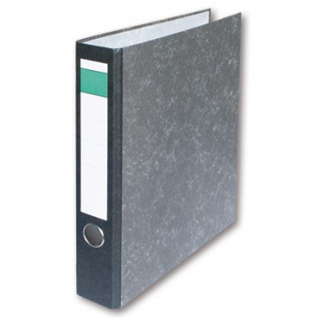 Pákový pořadač Ekonomy - A4, kartonový, hřbet 5 cm, černý, 20 ks