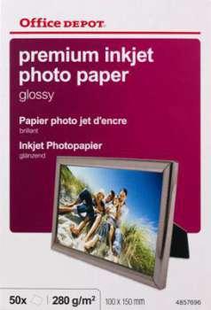 Fotopapír Office Depot, 10x15, 240 g/m2, lesklý