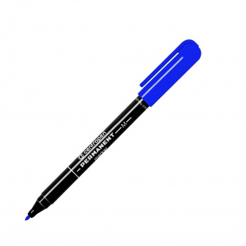 Permanentní popisovač Centropen 2846 - modrý, kulatý hrot