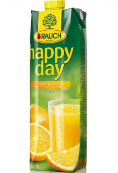 Džus HAPPY DAY - pomeranč 100 %, 1 l