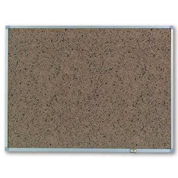 Nástěnka samolepicí Post-it - 90 x 60 cm, hnědá, hliníkový rám