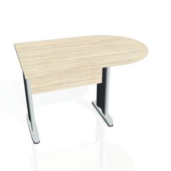 Přídavný stůl Hobis CROSS CP 1200 1, akát/kov
