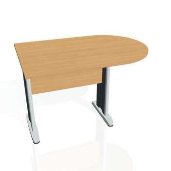 Přídavný stůl Hobis CROSS CP 1200 1, buk/kov