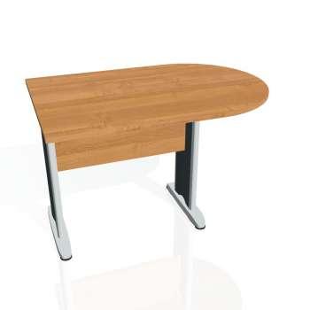Přídavný stůl Hobis CROSS CP 1200 1, olše/kov