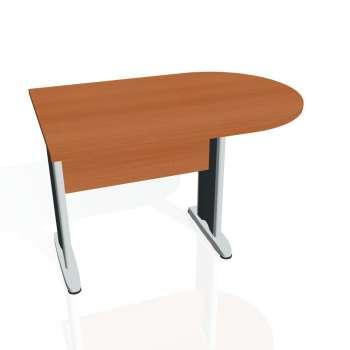 Přídavný stůl Hobis CROSS CP 1200 1, třešeň/kov