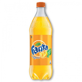 Fanta pomeranč - plast, 12 x 1 l