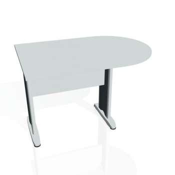 Přídavný stůl Hobis CROSS CP 1200 1, šedá/kov