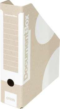 Stojan na časopisy Emba - A4, bílý, 5 ks
