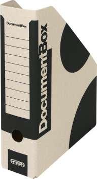 Stojan na časopisy Emba - A4, černá , 5 ks