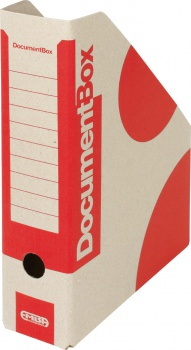 Stojan na časopisy Emba - A4, červený, 5 ks