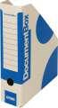 Stojan na časopisy Emba - A4, modrá , 5 ks