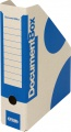 Stojany na časopisy Emba - A4, 7,5 cm, modré, 5 ks