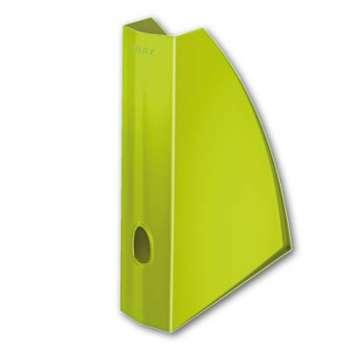 Stojan na časopisy LEITZ WOW - plastový, zelený