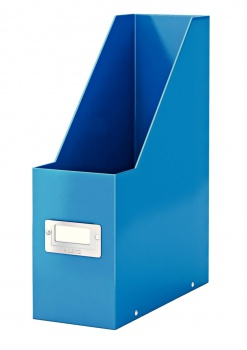 Stojan na časopisy LEITZ WOW Click-N-Store - modrá
