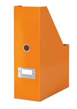 Stojan na časopisy LEITZ WOW Click-N-Store - oranžový