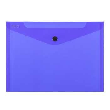 Spisové desky ELECTRA - A4, průhledné, tmavě modrá , 5 ks