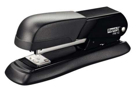 Sešívačka Rapid FM12 - celokovová, černá