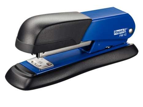Sešívačka Rapid FM12 - celokovová, černá/modrá