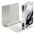 Prezentační 4kroužkový pořadač Leitz SoftClick Maxi - A4+, šíře hřbetu 3,8 cm, bílý