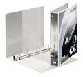 Prezentační pořadač LEITZ Softclick Maxi - A4, kroužkový, hřbet 5,1 cm, bílý