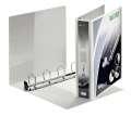 Prezentační pořadač LEITZ Softclick Maxi - A4, kroužkový, hřbet 6,3 cm, bílá