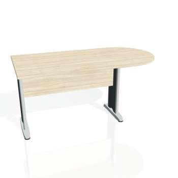 Přídavný stůl Hobis CROSS CP 1600 1, akát/kov