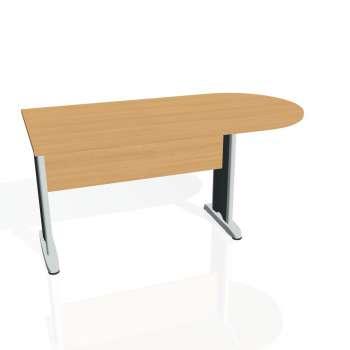 Přídavný stůl Hobis CROSS CP 1600 1, buk/kov