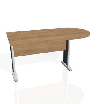 Přídavný stůl Hobis CROSS CP 1600 1, višeň/kov