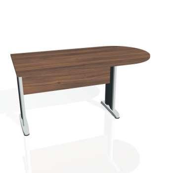 Přídavný stůl Hobis CROSS CP 1600 1, ořech/kov