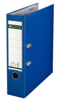 Pákový pořadač LEITZ 180° - A4, plastový, hřbet 8 cm, tmavě modrý