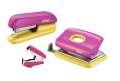 Sada sešívačky, děrovačky a rozešívačky Rapid - růžová/žlutá