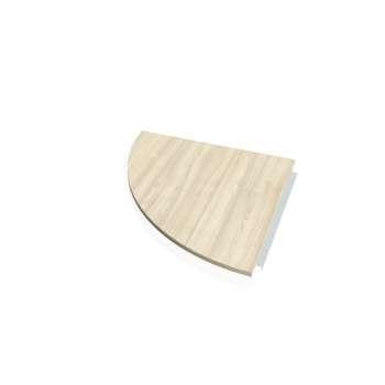 Doplňkový stůl CROSS, deska kruh 90°