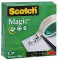 Lepicí páska Scotch Magic - neviditelná, popisovatelná, 19 mm x 10 m