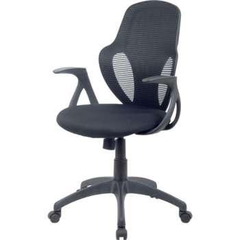 Kancelářská židle Realspace Austin - černá/černá