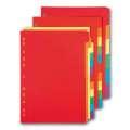 Rozlišovač Office Depot A4, barevný s výkroji, 6 listů