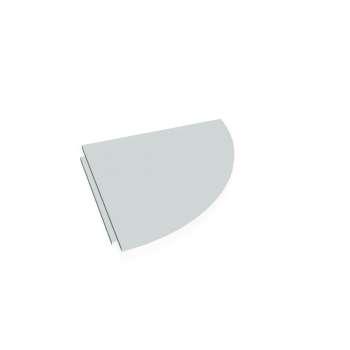 Přídavný stůl Hobis CROSS CP 900 pravý, šedá