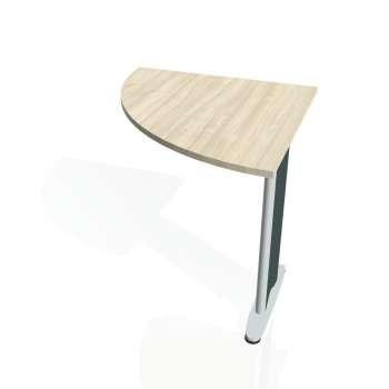 Přídavný stůl Hobis CROSS CP 901 levý, akát/kov