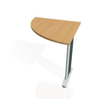 Přídavný stůl Hobis CROSS CP 901 levý, buk/kov
