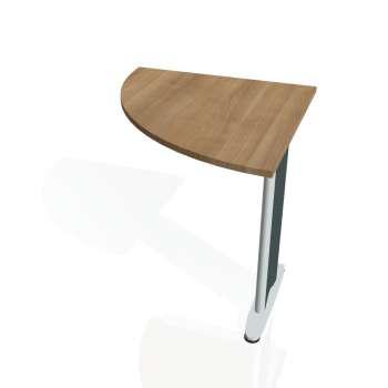 Přídavný stůl Hobis CROSS CP 901 levý, višeň/kov